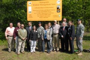 Mattaponi Wildlife Management Area dedication ceremony