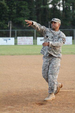 Fort A.P. Hill Garrison Command Sgt. Maj. Miguel E. Renya