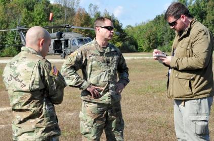 LTC Andrew Q. Jordan, commander, U.S. Army Garrison, Fort A.P. Hill